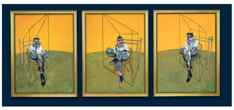 Three Studies of Lucian Freud