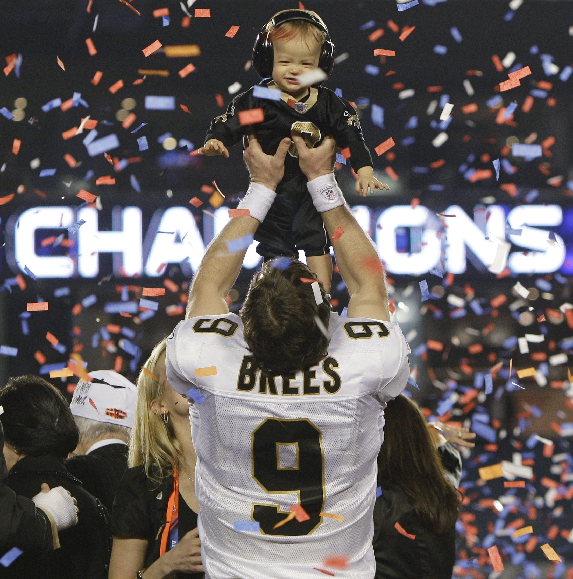 Saints Super Bowl win