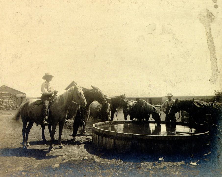 Historical photo of Dodge City
