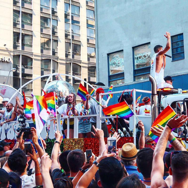 Float at Toronto Pride