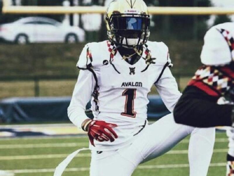 The Avalon School wide receiver Trevon Diggs