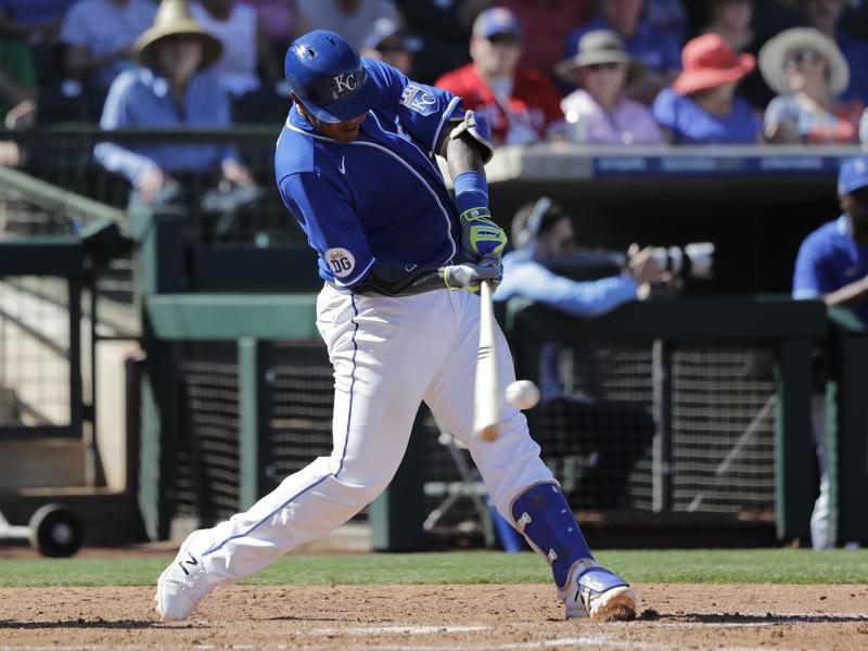 Angels Royals Spring Baseball