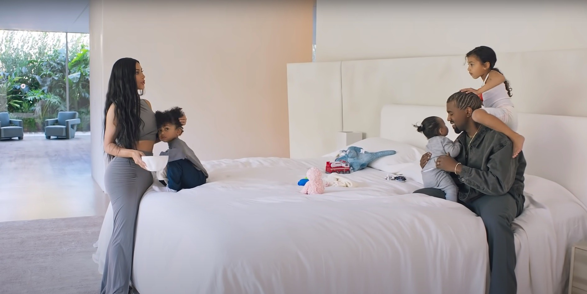 Kim, Kanye and kids