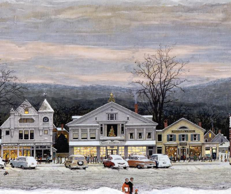 """""""Home for Christmas (Stockbridge Main Street at Christmas)"""