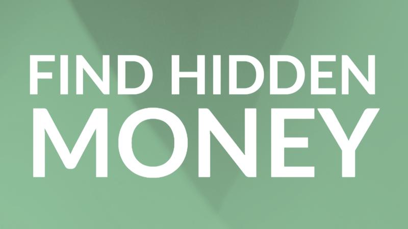 Find hidden money