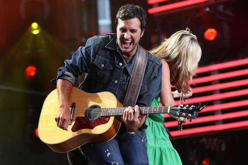 Luke Bryan performs at CMA Music Festival
