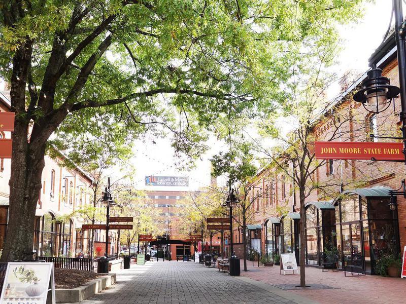 Brightleaf Square in Durham, North Carolina