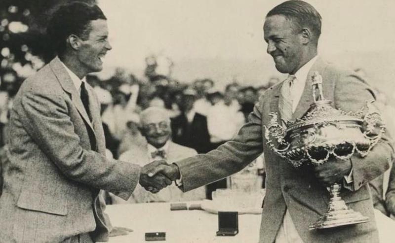 Bobby Jones with trophy