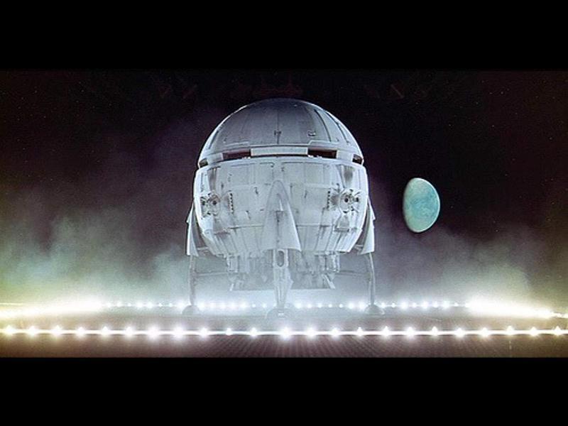 Aries 1B Trans-Lunar Spherical Space Shuttle