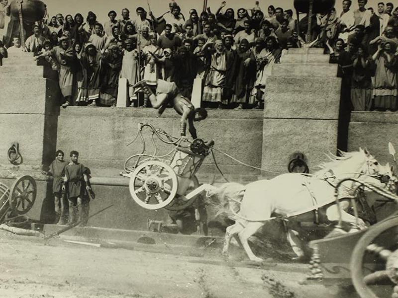 Ben-Hur's Chariot Race