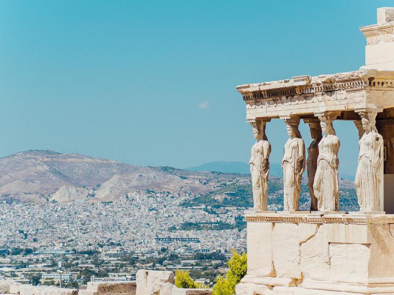 Erechtheion temple, Athens