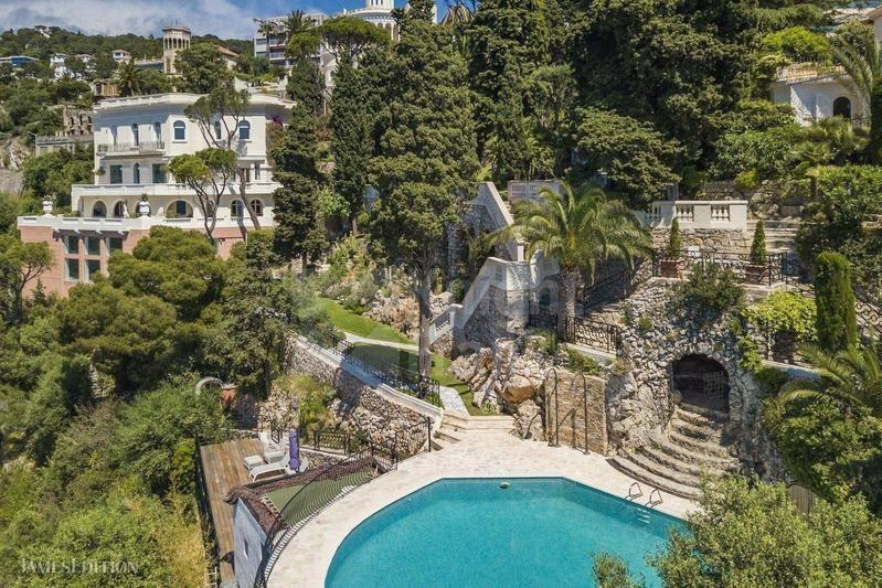 Big backyard of the estate