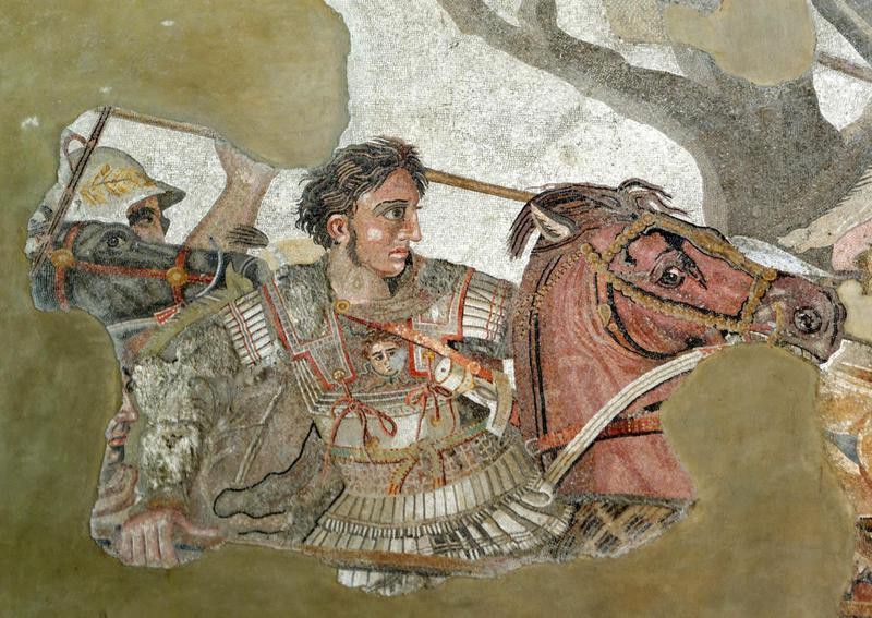 Battle of Issus mosaic