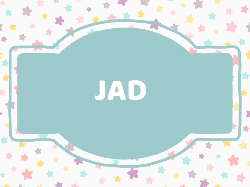 'J' Boy Names Unique: Jad
