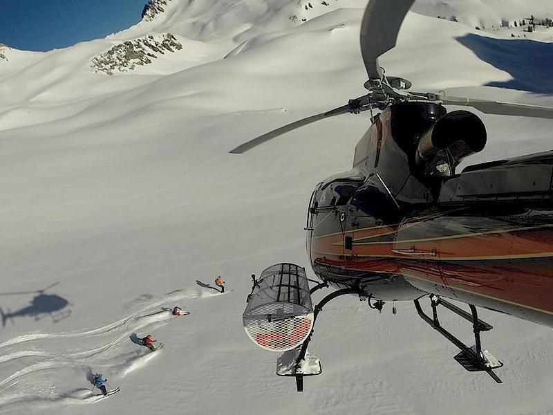 Colorado Heli-Skiing
