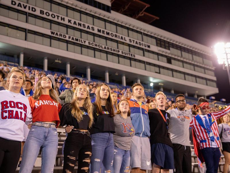 Students at University of Kansas