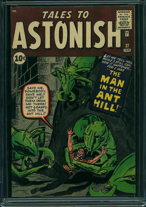 Tales to Astonish No. 27