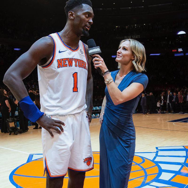Rebecca Haarlow and Bobby Portis
