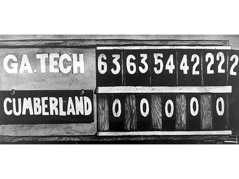 Cumberland vs. Georgia Tech