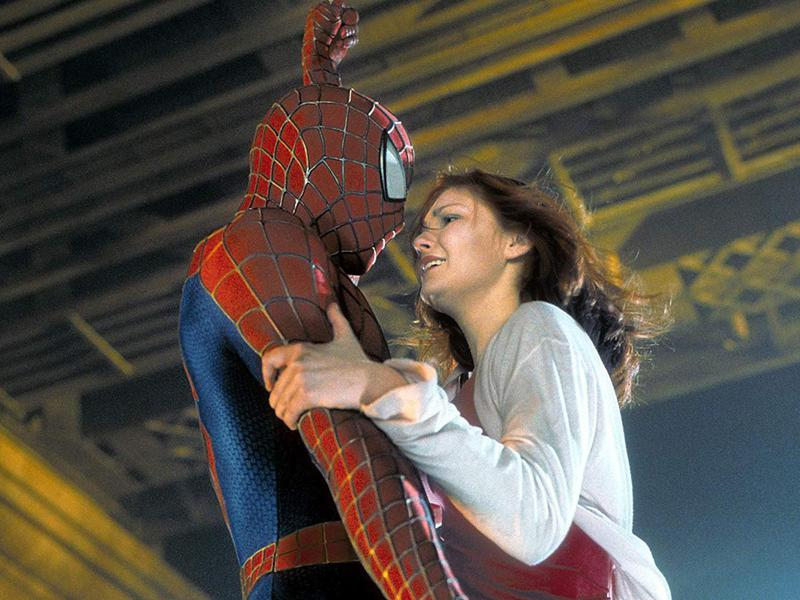 Kirsten Dunst and Tobey Maguire in Spider-Man (2002)