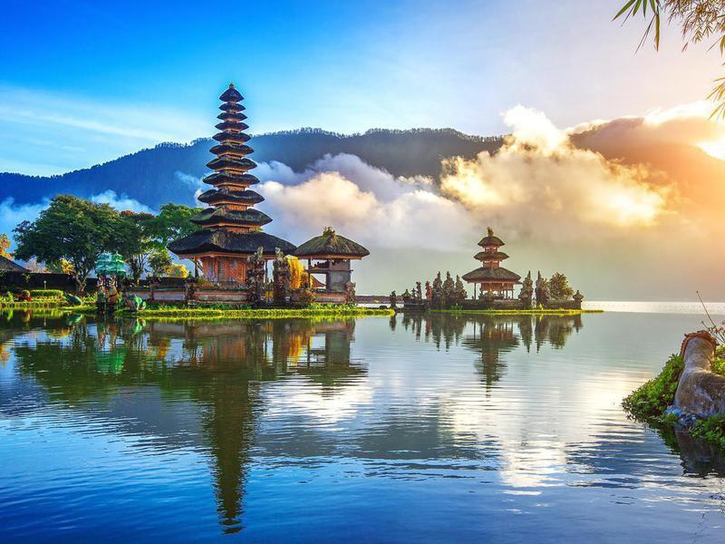 Pura Ulun Danu Bratan temple in Bali