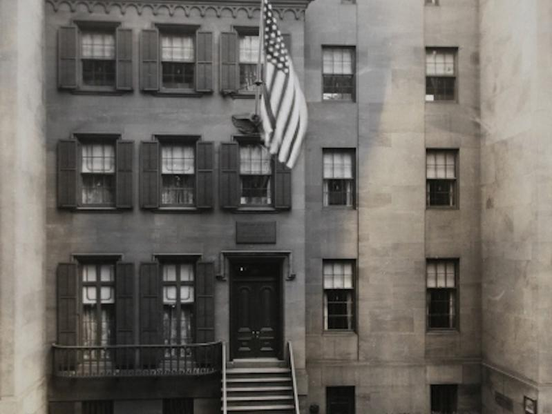 Roosevelt's birthplace