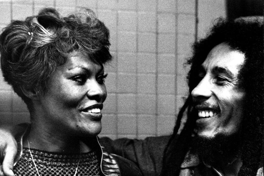 Bob Marley and Dion