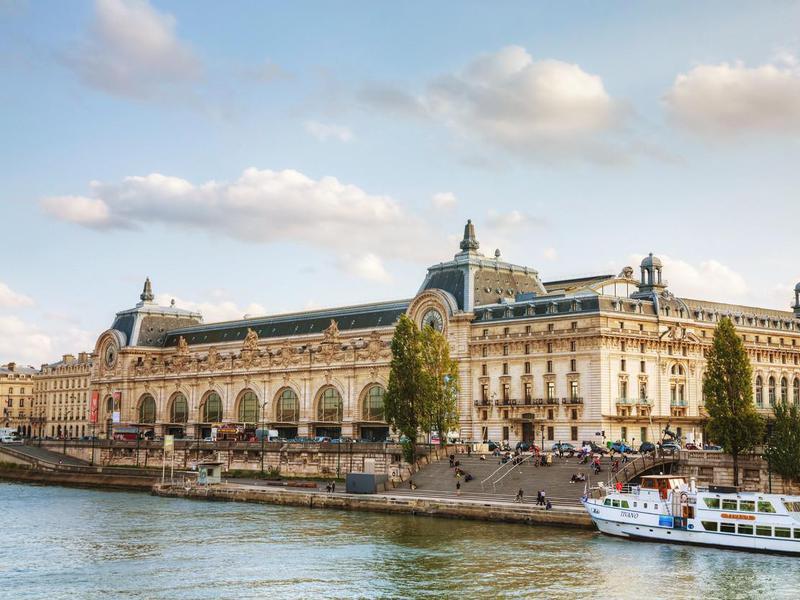 D'Orsay museum in Paris, France