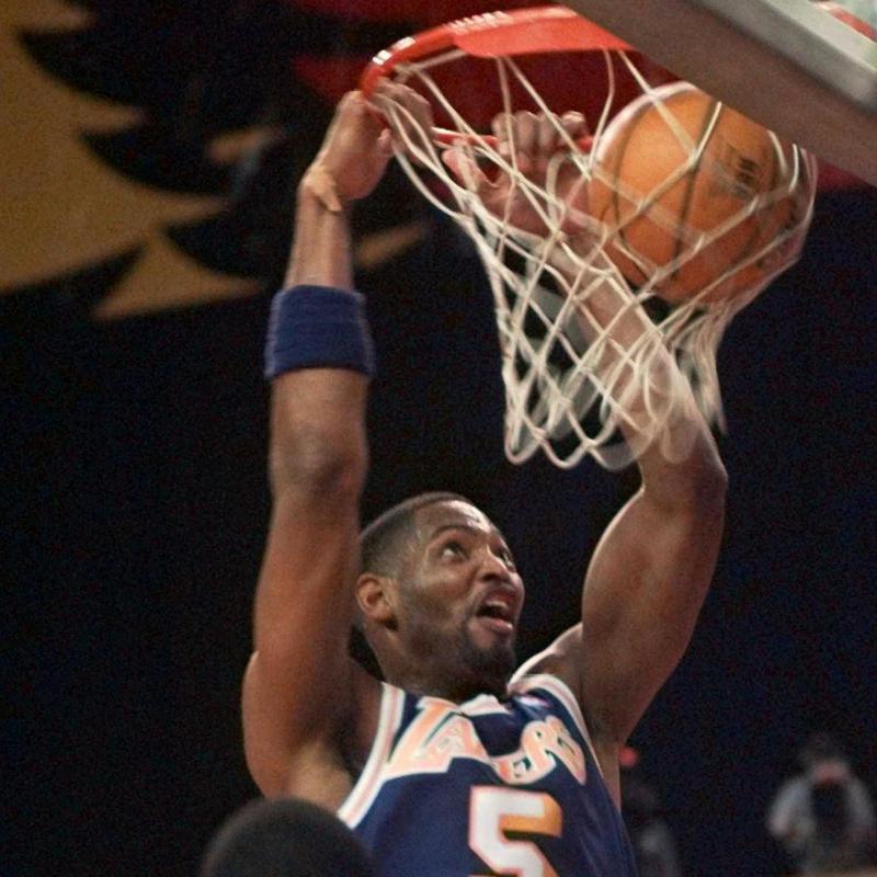 Robert Horry dunks