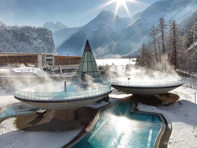 Aqua Dome Hotel pools