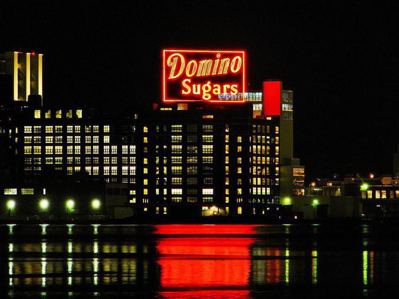Domino Sugars sign in Baltimore