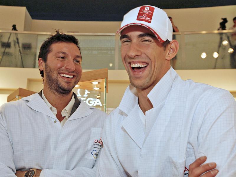 Ian Thorpe and Michael Phelps