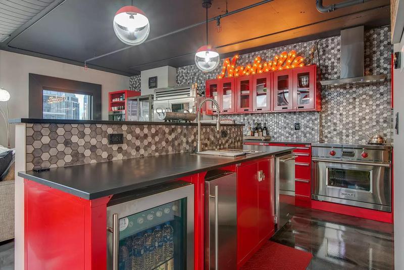 Retro, 1950s kitchen