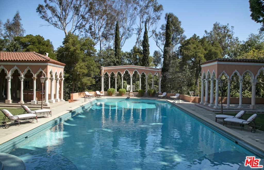 Pool at the Beverly House