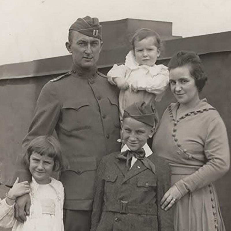 Ty Cobb and Family