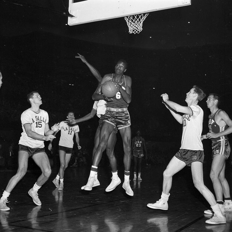 Bill Russell in 1955