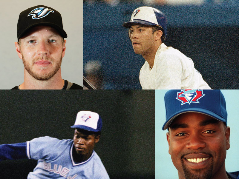 Toronto Blue Jays Mount Rushmore