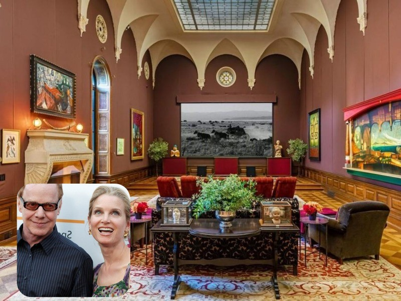 Danny Elfman and Bridget Fonda house