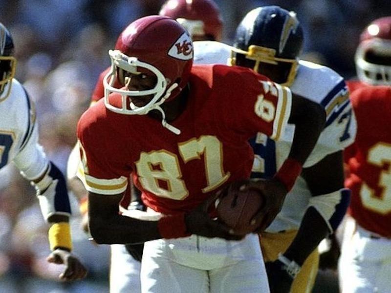 Kansas City Chiefs wide receiver Stan Rome