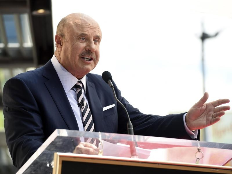 Dr. Phil speaking in 2020