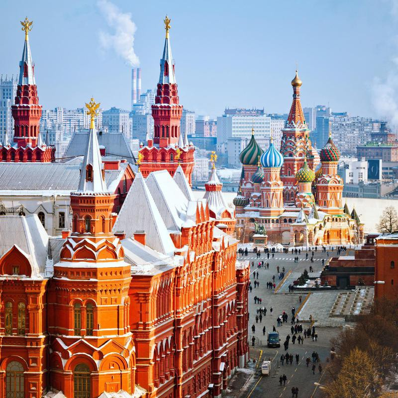 St. Basil's in Red Square