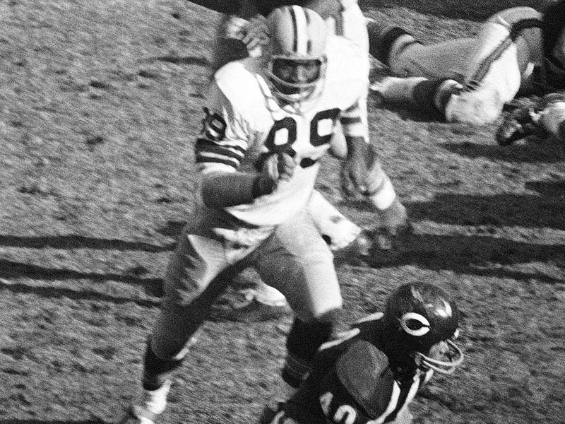 Green Bay Packers linebacker Dave Robinson