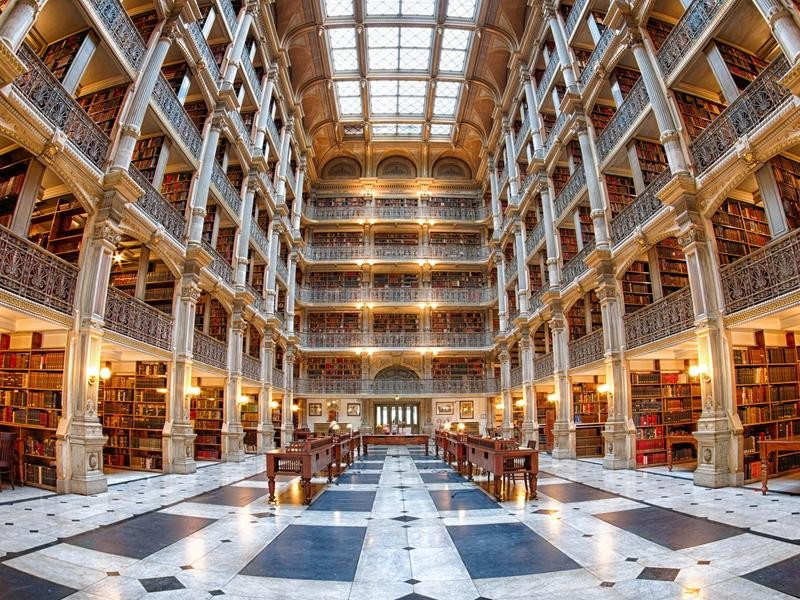 A research library at john Hopkins