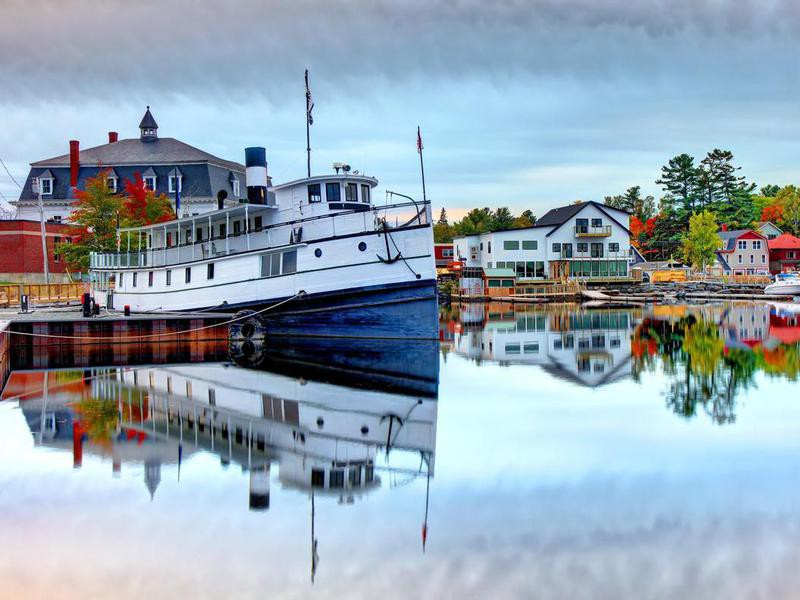 Autumn in Greenville, Maine