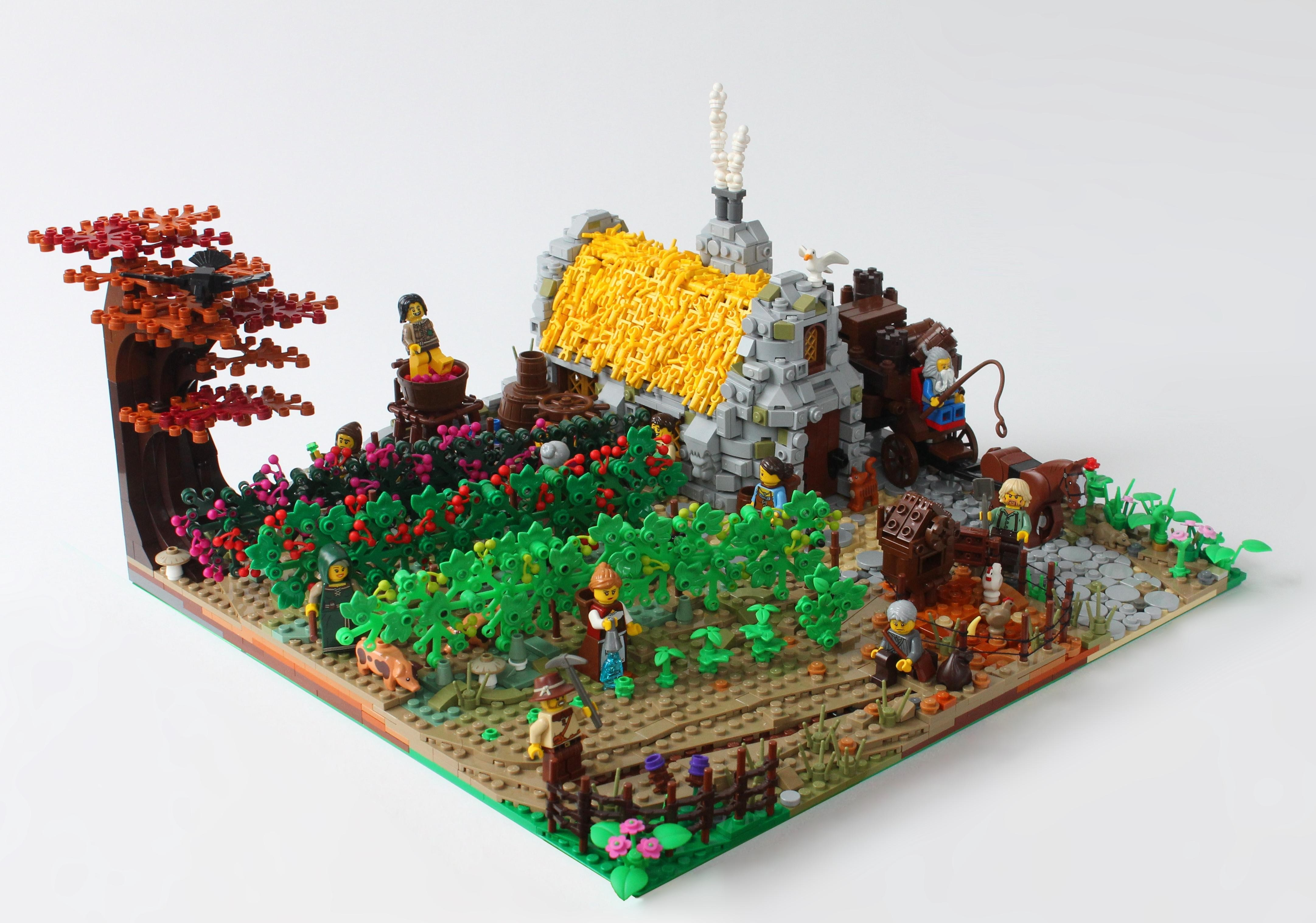Lego vineyard