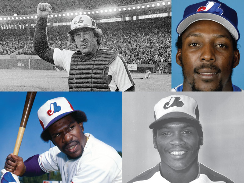 Montreal Expos/Washington Nationals Mount Rushmore