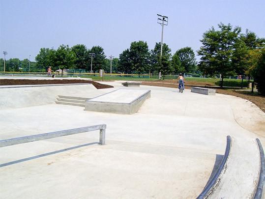 Mingo Skate Park in Delaware, Ohio