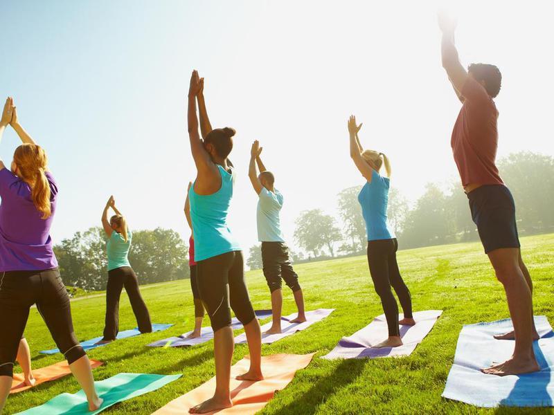 yoga in the U.S.