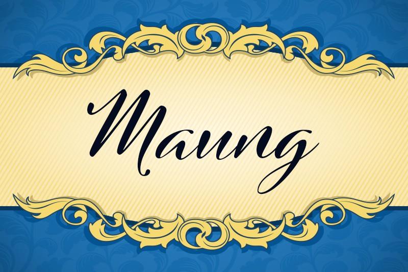 Maung
