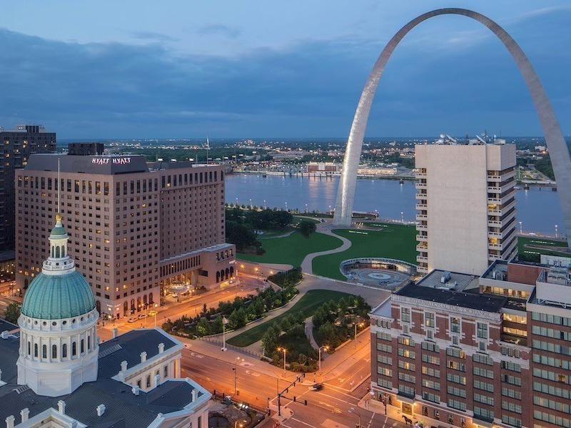 Hyatt Regency at St. Louis at the Arch ]]